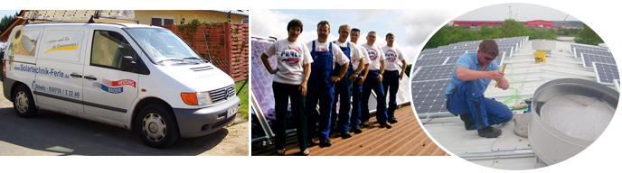 Ferle GmbH - Über uns - Solaranlageninstallation - Ölheizung - Palletheizung - Gasheizung - Badinstallationen